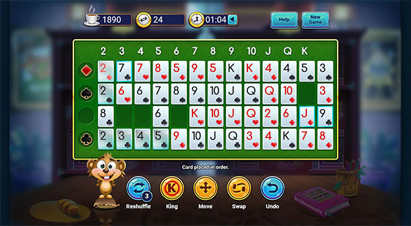 Pogo Addiction Solitaire HD Card Game Online