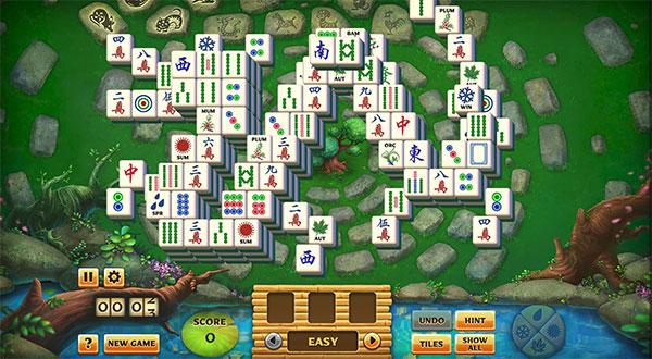 Pogo Mahjong Garden HD Unblocked Online