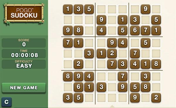 Pogo Sudoku Classic Game