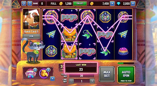 Pogo Slots Club Game
