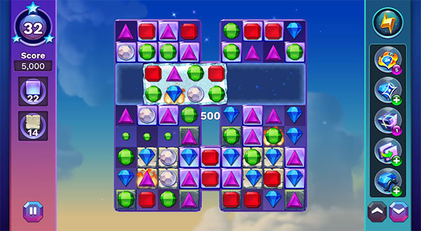 Play Bejeweled Stars Match 3 Online